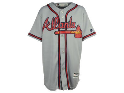 Atlanta Braves Majestic MLB Youth Blank Replica Jersey