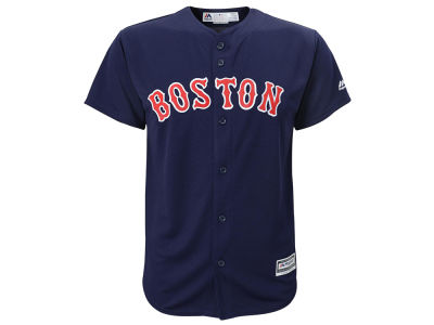 Boston Red Sox Majestic MLB Youth Blank Replica Jersey