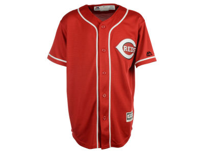 Cincinnati Reds Majestic MLB Youth Blank Replica Jersey