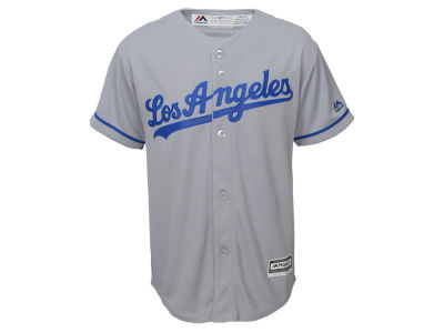 Los Angeles Dodgers Majestic MLB Youth Blank Replica Jersey