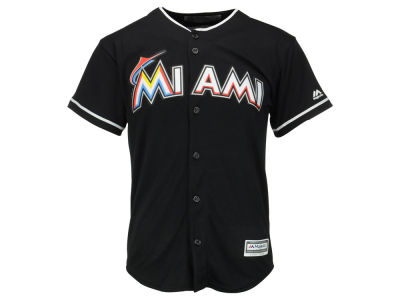 Miami Marlins MLB Youth Blank Replica Jersey