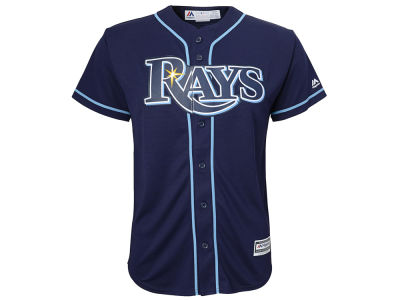 Tampa Bay Rays MLB Youth Blank Replica Jersey