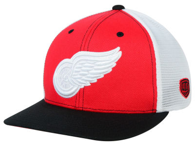 Detroit Red Wings Old Time Hockey NHL Change Up Flex Hat