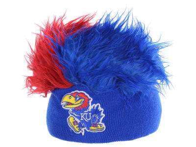 Kansas Jayhawks Flair Hair Knit