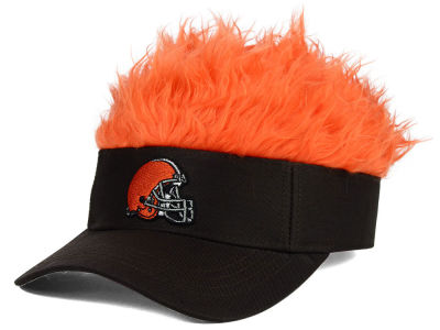 Cleveland Browns Flair Hair Visor