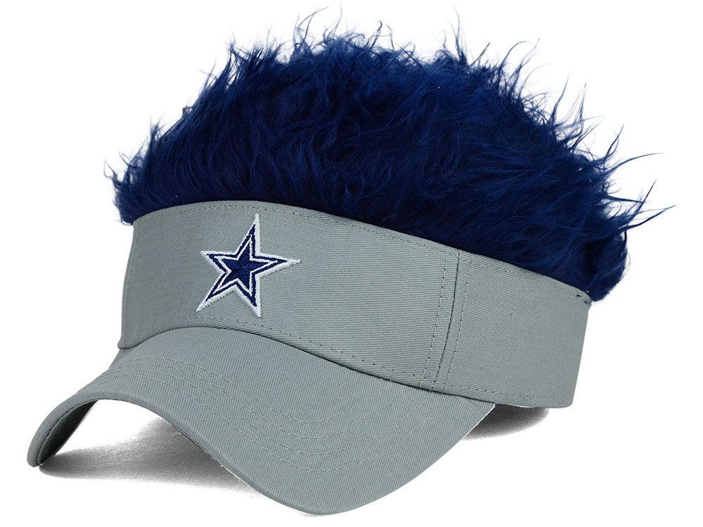 Dallas Cowboys Flair Hair Visor  a23cff51fe87