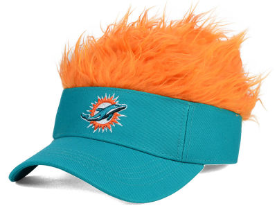 Miami Dolphins Flair Hair Visor