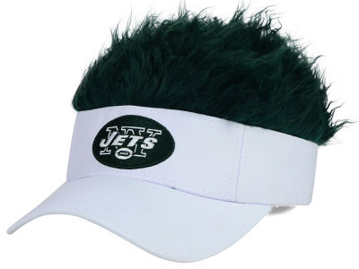 New York Jets Flair Hair Visor