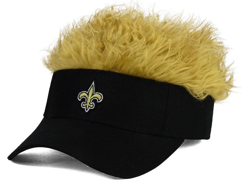 New Orleans Saints Flair Hair Visor  8d0a35a4fac3