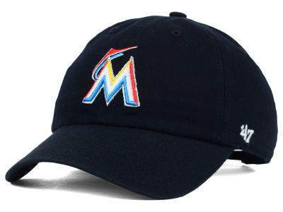 Miami Marlins '47 MLB Kids '47 CLEAN UP Cap