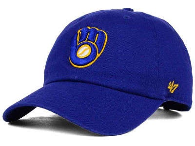 Milwaukee Brewers '47 MLB Kids '47 CLEAN UP Cap