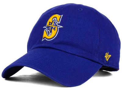Seattle Mariners '47 MLB Kids '47 CLEAN UP Cap