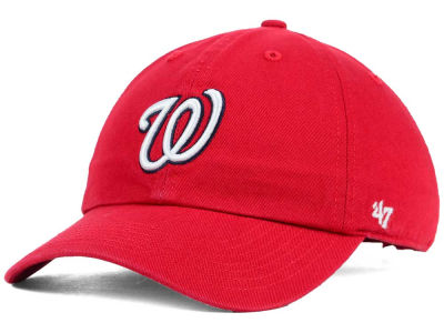 Washington Nationals '47 MLB Kids '47 CLEAN UP Cap