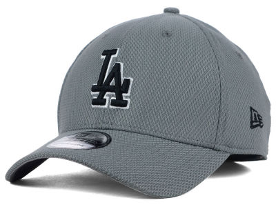 Los Angeles Dodgers New Era MLB NE Diamond Era Gray Black White 39THIRTY Cap