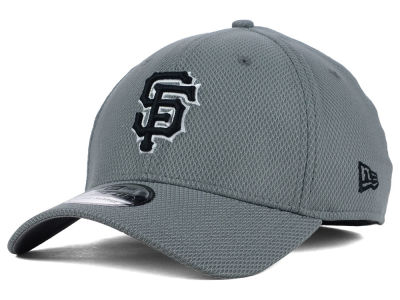 San Francisco Giants New Era MLB NE Diamond Era Gray Black White 39THIRTY Cap
