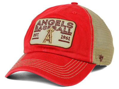 Los Angeles Angels '47 MLB Goin Yard Mesh '47 CLEAN UP Cap