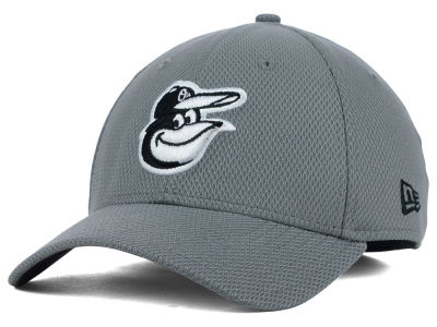 Baltimore Orioles New Era MLB NE Diamond Era Gray Black White 39THIRTY Cap