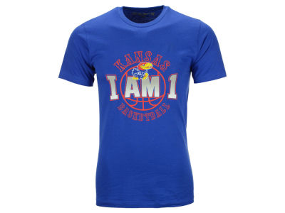 Kansas Jayhawks Retro Brand NCAA Men's I Am 1 T-Shirt