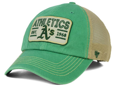 Oakland Athletics '47 MLB Goin Yard Mesh '47 CLEAN UP Cap