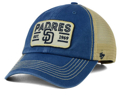 San Diego Padres '47 MLB Goin Yard Mesh '47 CLEAN UP Cap