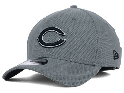 Cincinnati Reds New Era MLB NE Diamond Era Gray Black White 39THIRTY Cap
