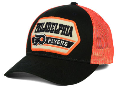 Philadelphia Flyers Reebok NHL Patched Trucker Cap