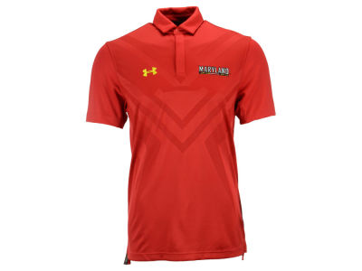 Maryland Terrapins Under Armour NCAA Men's Scout Polo Shirt