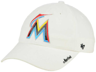 Miami Marlins '47 MLB Dazzler '47 Clean Up Cap