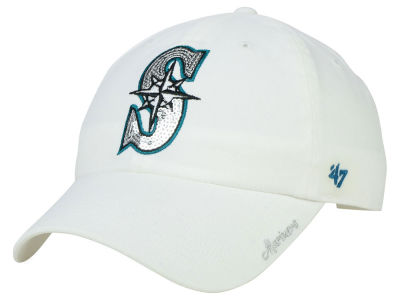 Seattle Mariners '47 MLB Dazzler '47 Clean Up Cap