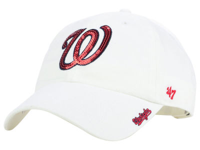 Washington Nationals '47 MLB Dazzler '47 Clean Up Cap