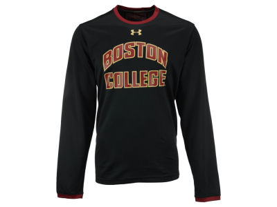 Boston College Eagles Under Armour NCAA Men's Huddle Long Sleeve T-Shirt