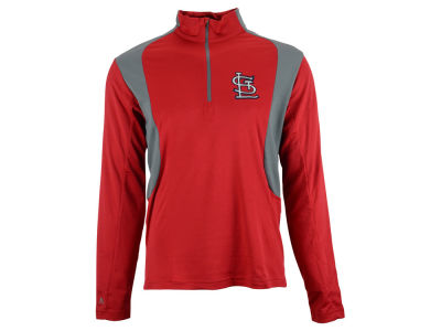 St. Louis Cardinals MLB Men's Delta 1/4 Zip Pullover Shirt