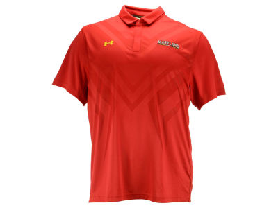 Maryland Terrapins Under Armour NCAA Men's Scout Polo 3XL-4XL Shirt