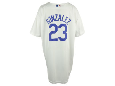 Los Angeles Dodgers Adrian Gonzalez MLB Youth Player Replica CB Jersey