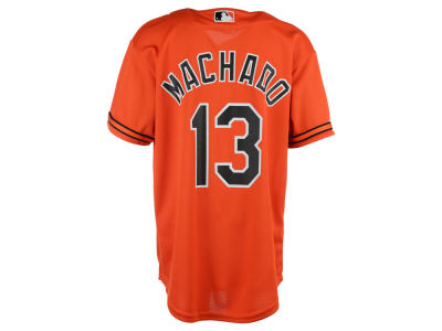 Baltimore Orioles Manny Machado Majestic MLB Youth Player Replica Cool Base Jersey