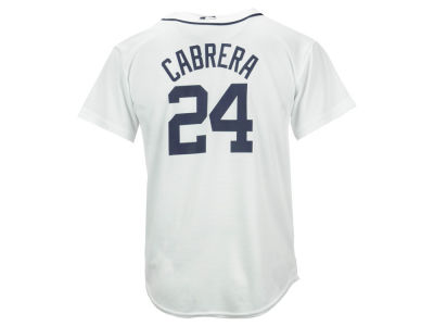 Detroit Tigers Miguel Cabrera Majestic MLB Youth Player Replica Cool Base Jersey