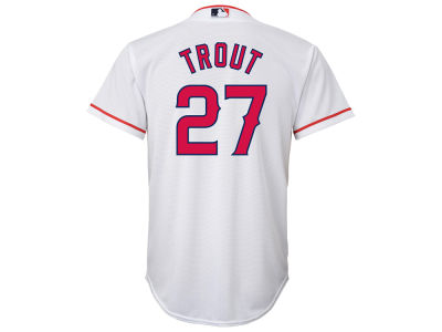 Los Angeles Angels Mike Trout Majestic MLB Youth Player Replica CB Jersey