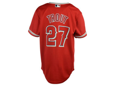 Los Angeles Angels Mike Trout MLB Youth Player Replica CB Jersey
