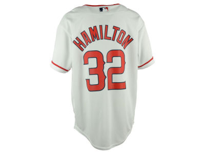 Los Angeles Angels Josh Hamilton Majestic MLB Youth Player Replica Cool Base Jersey