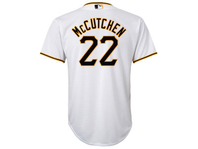 Pittsburgh Pirates Andrew McCutchen Majestic MLB Youth Player Replica Cool Base Jersey