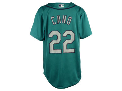 Seattle Mariners Robinson Cano Majestic MLB Youth Player Replica Cool Base Jersey