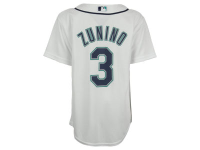 Seattle Mariners Mike Zunino MLB Youth Player Replica CB Jersey