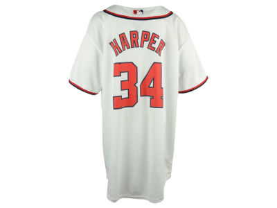 Washington Nationals Bryce Harper MLB Youth Player Replica CB Jersey