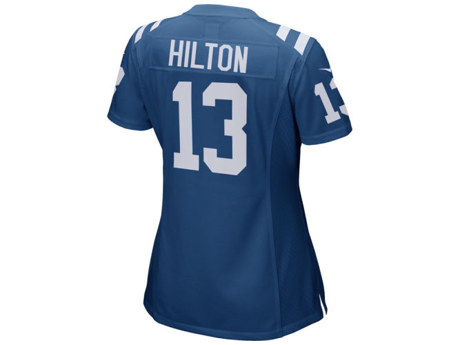 T.Y. Hilton Indianapolis Colts Nike NFL Women s Game Jersey - T.Y. ... 0d13def6c