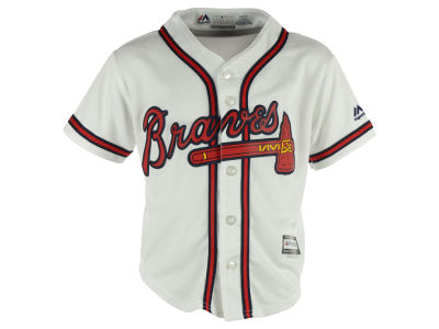 Atlanta Braves Majestic MLB Kids Blank Replica Cool Base Jersey