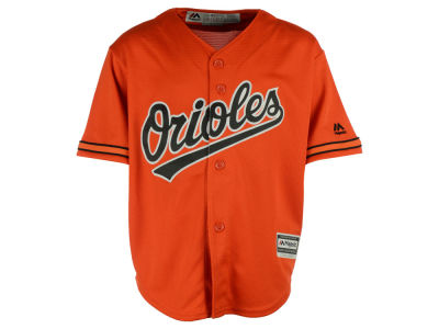 Baltimore Orioles Majestic MLB Kids Blank Replica Cool Base Jersey