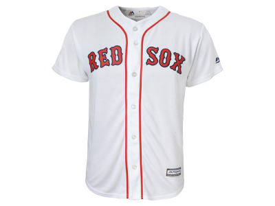 Boston Red Sox Majestic MLB Kids Blank Replica Cool Base Jersey