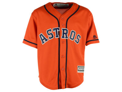 Houston Astros MLB Kids Blank Replica Cool Base Jersey