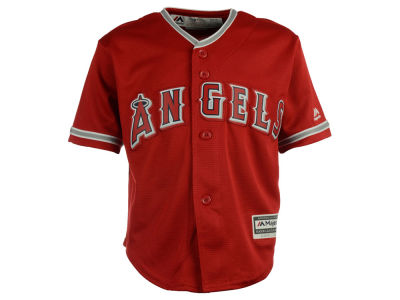 Los Angeles Angels Majestic MLB Kids Blank Replica Cool Base Jersey