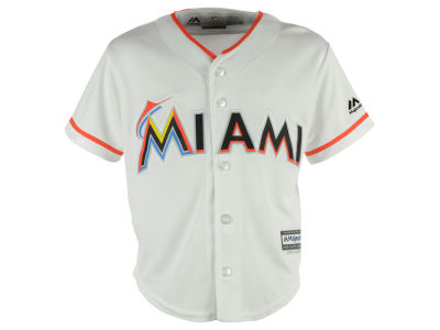 Miami Marlins MLB Kids Blank Replica Cool Base Jersey